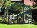 Greenhouse Glass Juliana Junior 2.77x2.98x2.57 m, Anthracite