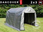 Storage tent PRO 2x3x2 m PE, Gr