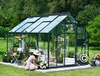 Greenhouse Glass Juliana Junior 2.77x3.70x2.57 m, Anthracite