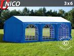 Marquee UNICO 3x6 m, Blue