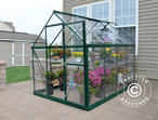 Greenhouse polycarbonate Harmony 4.5m, 1.85x2.47x2.08 m Green