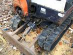 mini digger kubota kx 1.5 excavator plant trailer inderspention no vat