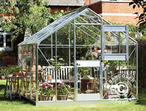 Greenhouse Glass Juliana Junior 2.77x2.98x2.57 m, Aluminium