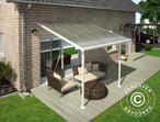 Carport/ Patio Cover Feria 3x3.05 m, White