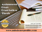 Assignment & Dissertation Writing help