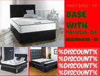 %NEW OFFER% DOUBLE DIVAN BED SET = WITH MATTRESS