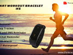 Smart Workout Bracelet H5 - A Personal Workout Partner you can depend upon