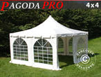 Marquee Pagoda PRO 4x4 m, PVC