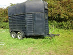 Bahill horse trailer