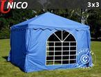 Marquee UNICO 3x3 m, Blue
