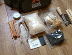 Bushcraft fire lighting kit