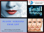 Plastic Surgeons Email List | Free Buy Plastic Surgeons email Lists