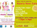 mum2mum market (Manchester) Nearly New Sale