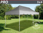 "Pop up gazebo FleXtents PRO ""Peaked"" 3x6 m Latte"