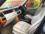 RANGE ROVER VOGUE, 2003 (53) Green Estate, Automatic Diesel, 106,000 miles
