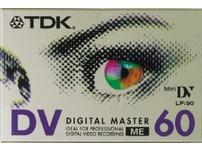 TDK Mini DV 60min x3