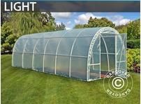 Polytunnel Greenhouse Light 2,2x6x1,9 m, Transparent