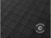 Plastic flooring Basic, Multiplate, Black, 9.84 m