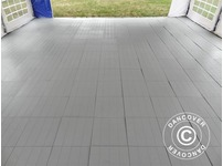 Plastic flooring Basic, Piastrella, Grey, 40.32 m