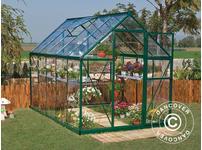 Greenhouse polycarbonate Harmony 5.6m, 1.85x3.06x2.08 m Green