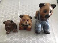 Set of 3 Bears