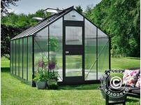 Greenhouse Polycarbonate Juliana Junior 12.1m, 2.77x4.41x2.57 m, Anthracite
