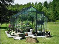 Greenhouse Glass Juliana Junior 2.77x4.41x2.57 m, Anthracite
