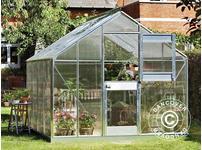 Greenhouse Polycarbonate Juliana Junior 8.3m, 2.77x2.98x2.57 m, Aluminium