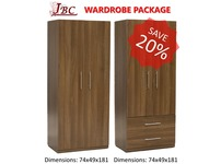 WARDROBE & TALLBOY PACKAGE - SPECIAL OFFER
