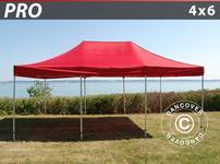 Pop up gazebo FleXtents PRO 4x6 m Red