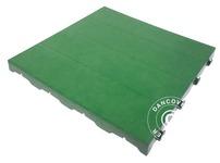 Plastic flooring Basic, Piastrella, Green, 10.08 m