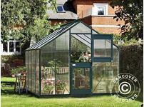 Greenhouse Polycarbonate Juliana Junior 8.3m, 2.77x2.98x2.57 m, Anthracite