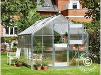 Greenhouse Polycarbonate Juliana Junior 12.1m, 2.77x4.41x2.57 m, Aluminium
