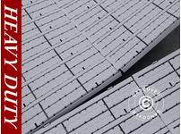 Flooring, Heavy duty, grey 40 m²