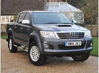 Toyota Hilux, 2014 (Q) Grey 4x4, Automatic Diesel, 12,085 miles