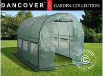 Polytunnel Greenhouse 2x3x2 m, Green