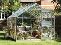 Greenhouse Glass Juliana Junior 2.77x4.41x2.57 m, Aluminium