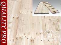 Marquee Wood Flooring, 150x50x2,2cm, Pine, 72m²