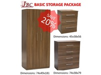 COMPLETE BASIC STORAGE FURNITURE PACKAGE - SPECIAL OFFER