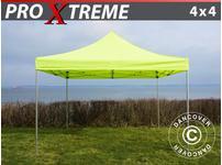 Pop up gazebo FleXtents Xtreme 4x4 m Neon yellow/green