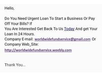 All Types Of Loan Services Available Here Today
