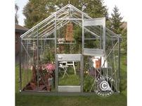 Greenhouse Glass Juliana Junior 2.77x3.70x2.57 m, Aluminium