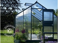 Greenhouse Polycarbonate Juliana Junior 9.9m², 2.77x3.70x2.57 m, Anthracite