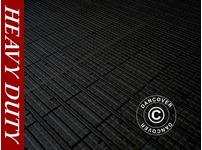 Flooring, Heavy duty, black 40 m
