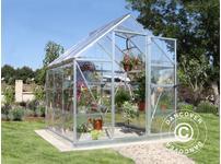 Greenhouse polycarbonate Harmony 3.4m, 1.85x1.86x2.08 m Silver