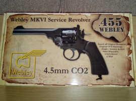 WEBLEY SERVICE  455 mkV1 co2 177bb