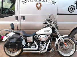 FABULOUS 2003 100 YEAR ANNIVERSARY HARLEY DAVIDSON FXDL DYNA LOW RIDER,  1450cc 16731 MILES AND MANY EXTRAS