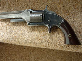 Smith and Wesson 1/2 tip up revolver