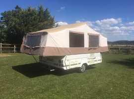 Cabanon Venus DL 2 berth. Trailer Tent