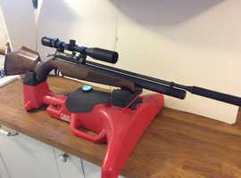 Air arms S410 Precharged air rifle
